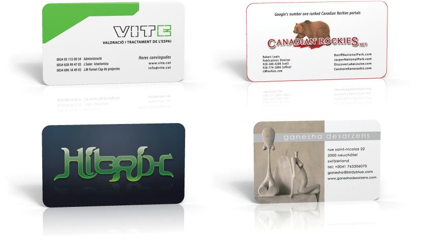 Diseño de tarjetas de visita   Bizcard design